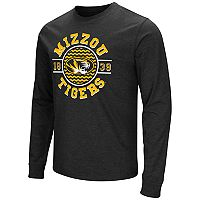 Men's Campus Heritage Missouri Tigers Zigzag Long-Sleeve Tee