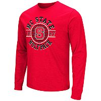 Men's Campus Heritage North Carolina State Wolfpack Zigzag Long-Sleeve Tee