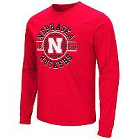 Men's Campus Heritage Nebraska Cornhuskers Zigzag Long-Sleeve Tee