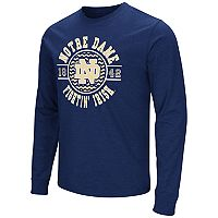 Men's Campus Heritage Notre Dame Fighting Irish Zigzag Long-Sleeve Tee