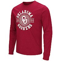 Men's Campus Heritage Oklahoma Sooners Zigzag Long-Sleeve Tee