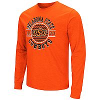 Men's Campus Heritage Oklahoma State Cowboys Zigzag Long-Sleeve Tee