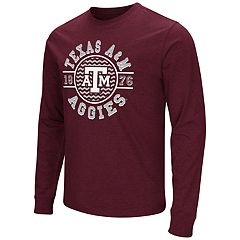 Men's Campus Heritage Texas A&M Aggies Zigzag Long-Sleeve Tee