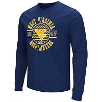 Men's Campus Heritage West Virginia Mountaineers Zigzag Long-Sleeve Tee
