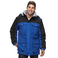 Men's Victory 40 Colorblock Hooded Parka