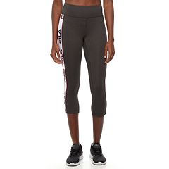 Women's FILA SPORT® Side Stripe Capri Leggings