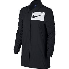 Women's Nike Sportswear Swoosh Snap Front Jacket