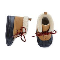 Baby Boy Carter's Duck Boot Crib Shoes