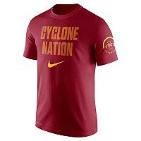 Men's Nike Iowa State Cyclones Verbiage Tee