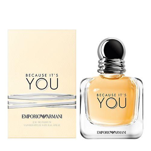 Emporio Armani Because Its You Womens Perfume Eau De Parfum
