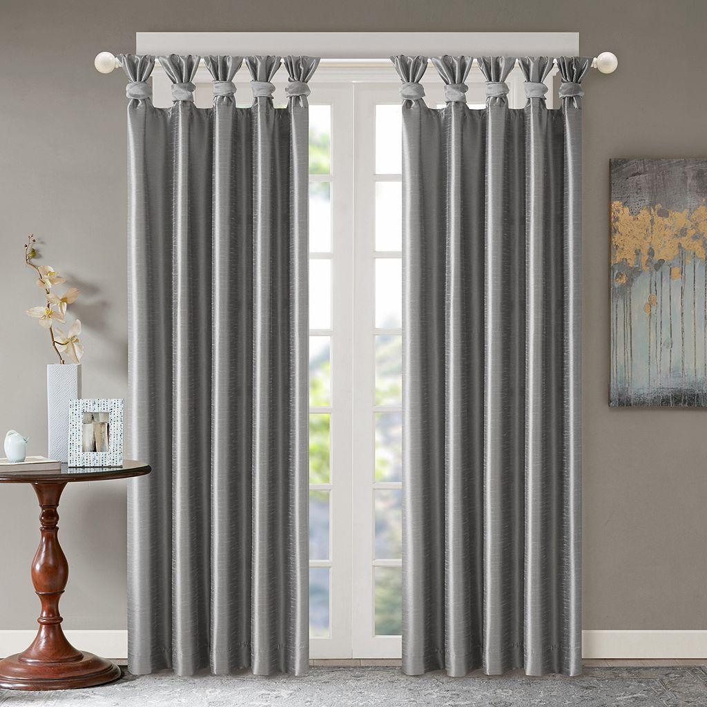 Madison Park Daniele Twisted Tab Window Curtain