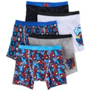 Boys Spider-Man 5-Pack Boxer Briefs