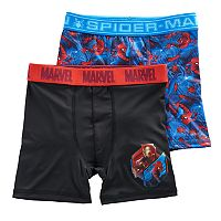 Boys 6-10 Marvel Spider-Man 2-Pack Boxer Briefs