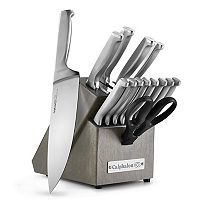 Calphalon Classic SharpIN 15 pc Self-Sharpening Stainless Steel Knife Block Set