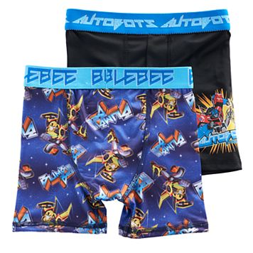 Boys 6-10 Transformers 2-Pack Boxer Briefs