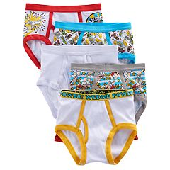 Boys 4-8 Captain Underpants 5-Pack Briefs