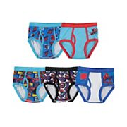 Boys 4-8 Marvel Spider-Man 5-Pack Briefs