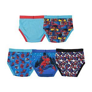 Boys 4-8 Spiderman 5-Pack Briefs
