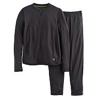Boys Cuddl Duds Solid 2-Piece Base Layer Set