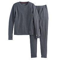 Boys Cuddl Duds Thermal 2 pc Base Layer Set