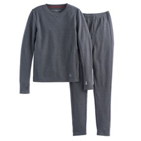 Boys Cuddl Duds Thermal 2-Piece Base Layer Set