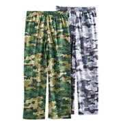 Boys 4-16 Up-Late 2-Pack Camouflage Lounge Pants
