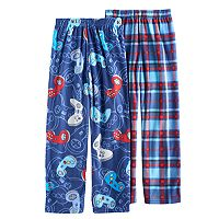 Boys 6-18 Cuddl Duds 2-Pack Video Game Lounge Pants