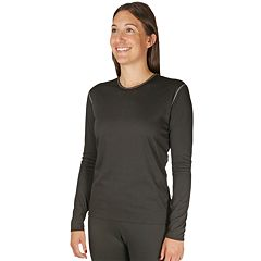 Women's Hot Chillys Pepper Bi-Ply Crewneck Top