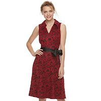 Women's ELLE™ Lace Shirt Dress