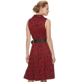 Women's ELLE™ Lace Shirt Dress