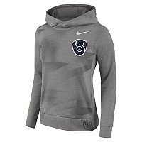 Women's Nike Milwaukee Brewers Therma-FIT Hoodie