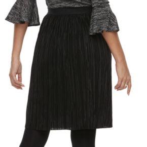 Women's Apt. 9® Pleated Midi Skirt