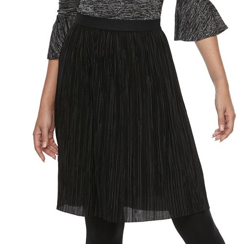 Women's Apt. 9® Pleated Midi Skirt