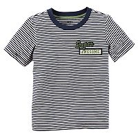 Boys 4-8 Carter's Applique Patch Striped Tee