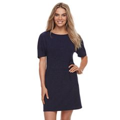 Petite Apt. 9® Solid Ribbed Dress