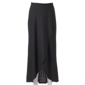 Women's Apt. 9® Striped Tulip-Hem Maxi Skirt
