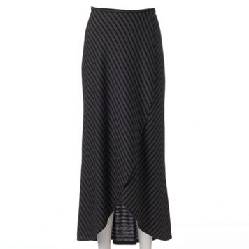 Women's Apt. 9® Striped Tulip-Hem Maxi Skirt