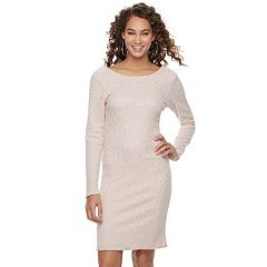Women's Jennifer Lopez Metallic Boucle Sheath Dress