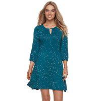 Petite Apt. 9® Keyhole A-Line Dress