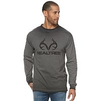 Men's Realtree Logo Pigment-Dyed Tee