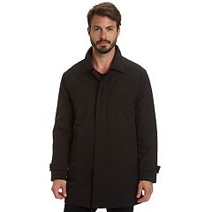 Big & Tall Haggar Three-Quarter Length City Rain Jacket
