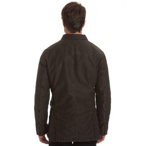 Men's Haggar Garment-Washed Barn Coat