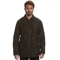 Big & Tall Haggar Garment-Washed Barn Coat