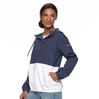 Women's Columbia Amberley Stream Hooded Colorblock Pullover Jacket