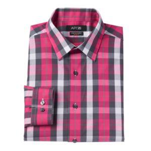 Men's Apt. 9 ®  Slim-Fit Plaid Stretch Dress Shirt