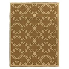 Linon Innovations Trellis Reversible Indoor Outdoor Rug - 6'6'' x 9'6''