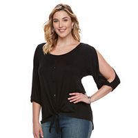 French Laundry Plus Size Button Down Shirt