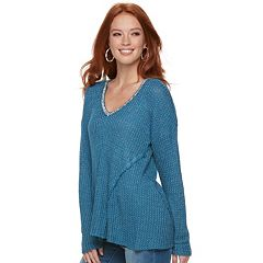Women's Juicy Couture Embellished V-Neck Sweater
