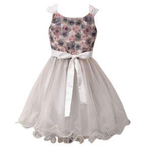 Girls 7-16 Bonnie Jean Lace Tulle Dress
