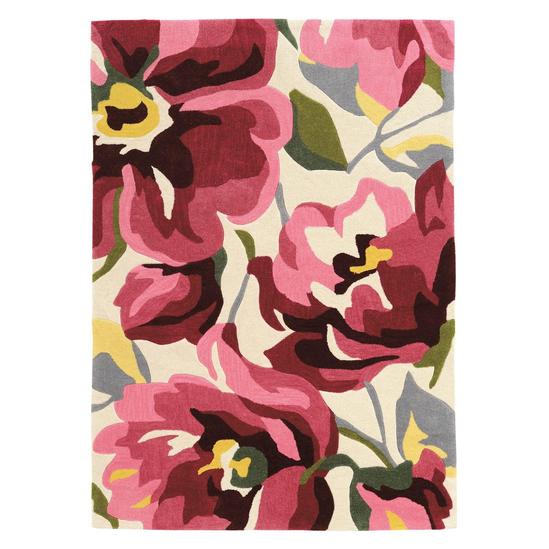 Linon Trio Bold Floral I Rug